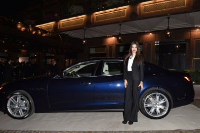 Maserati al Gran Galà Milano Charity Adriana Romero