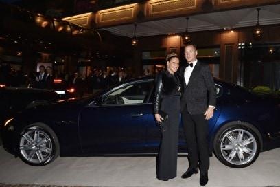 Maserati al Gran Galà Milano Charity Carla Mexès, Philippe Mexès