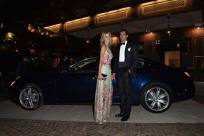 Maserati al Gran Galà Milano Charity Elena Santarelli, Bernardo Corradi