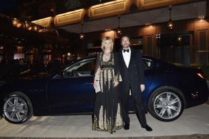 Maserati al Gran Galà Milano Charity Federica Fontana, Felice Rusconi