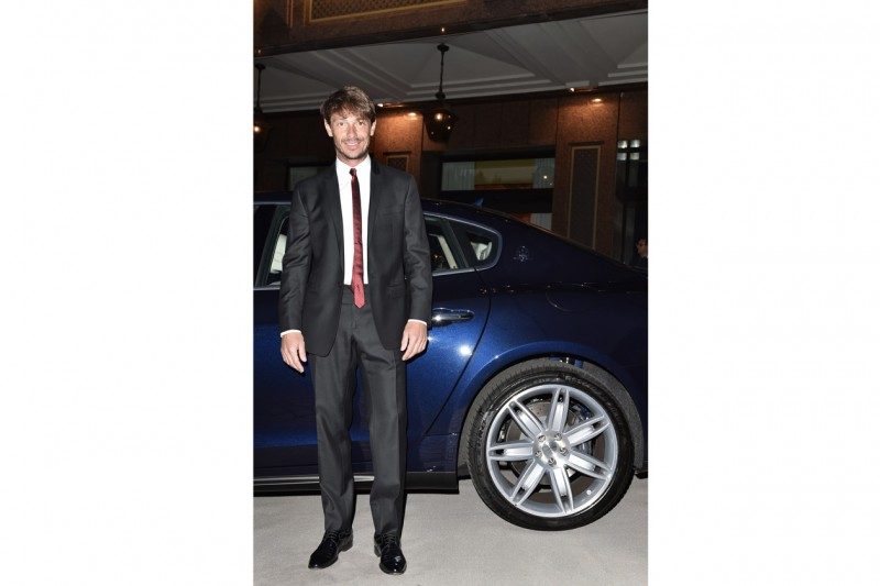 Maserati al Gran Galà Milano Charity Giorgio Pasotti