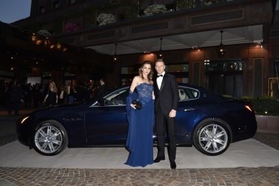 Maserati al Gran Galà Milano Charity Valentina Del Vecchio, Ignazio Abate