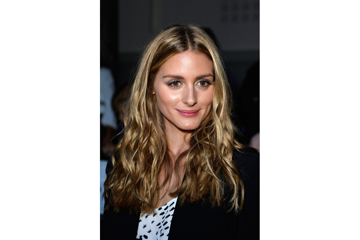 Olivia Palermo capelli: blonde beach waves