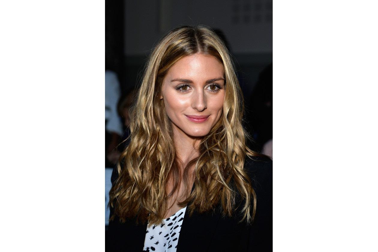 Olivia Palermo capelli: blonde beach waves