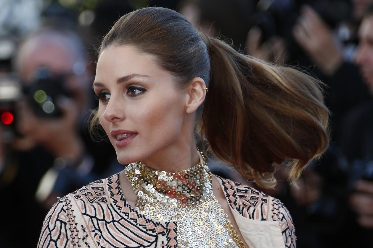 Olivia Palermo capelli: coda alta voluminosa