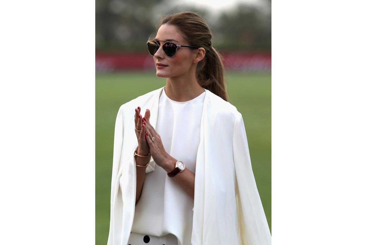 Olivia Palermo capelli: coda media