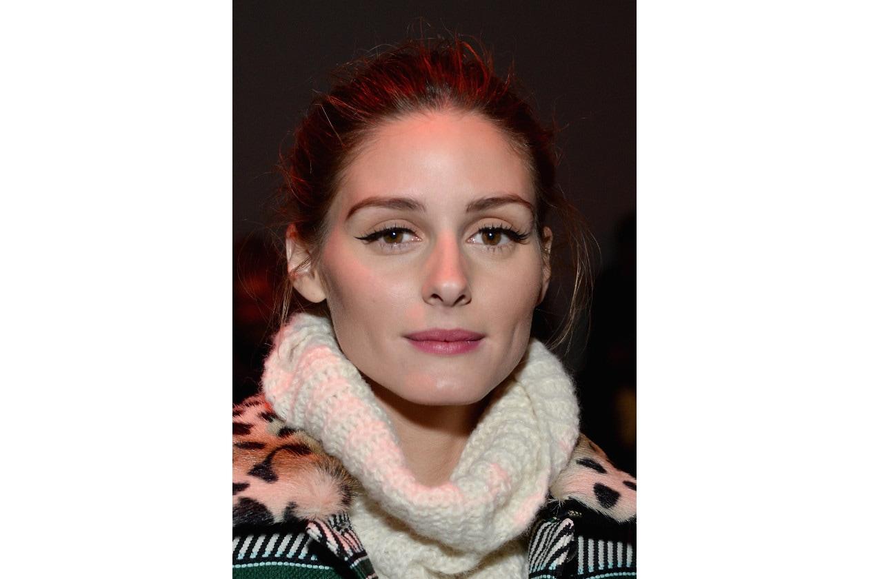 Olivia Palermo capelli: messy updo