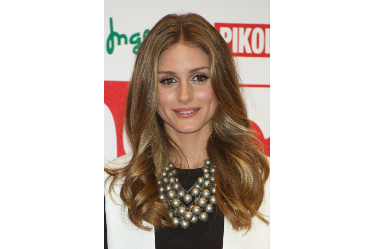 Olivia Palermo capelli: mosso soft