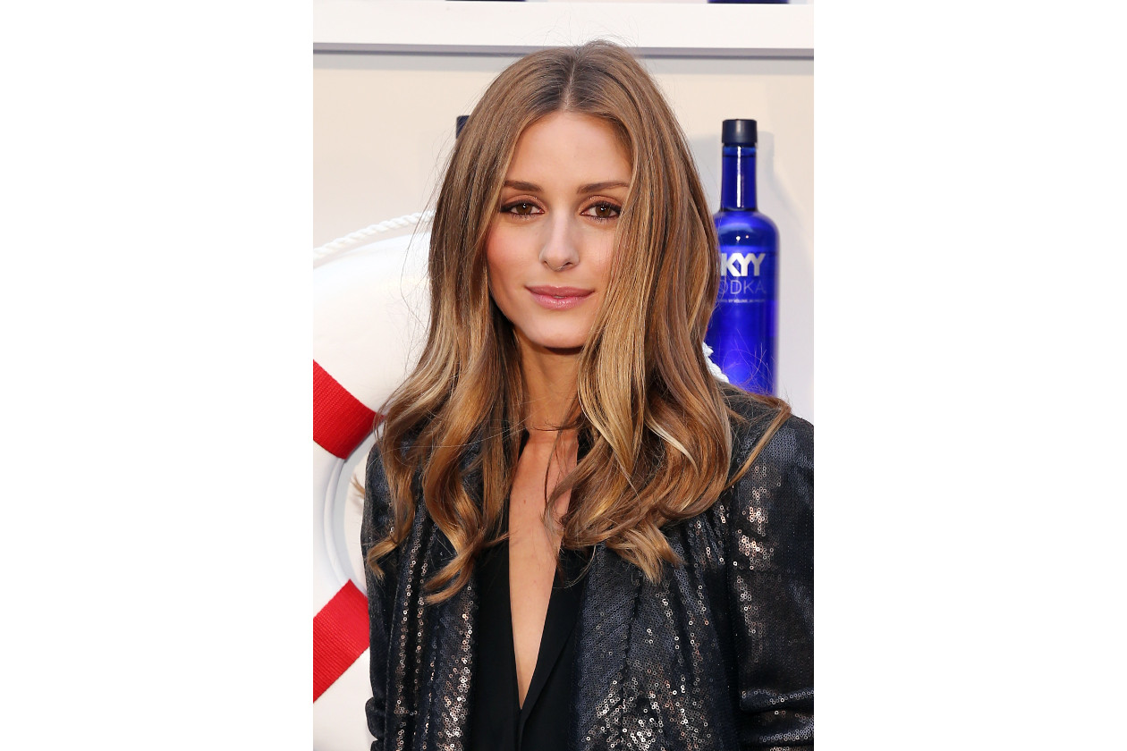 Olivia Palermo capelli: punte mosse