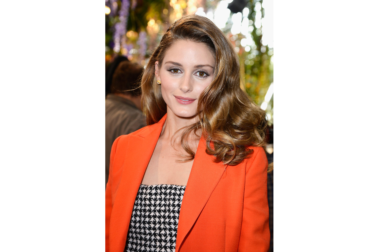 Olivia Palermo capelli: swept side hair