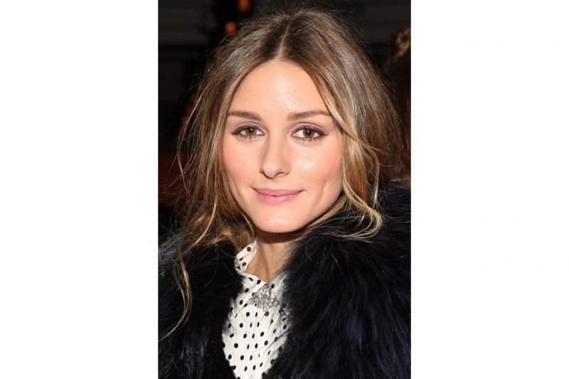 Olivia Palermo trucco: eyeliner marrone