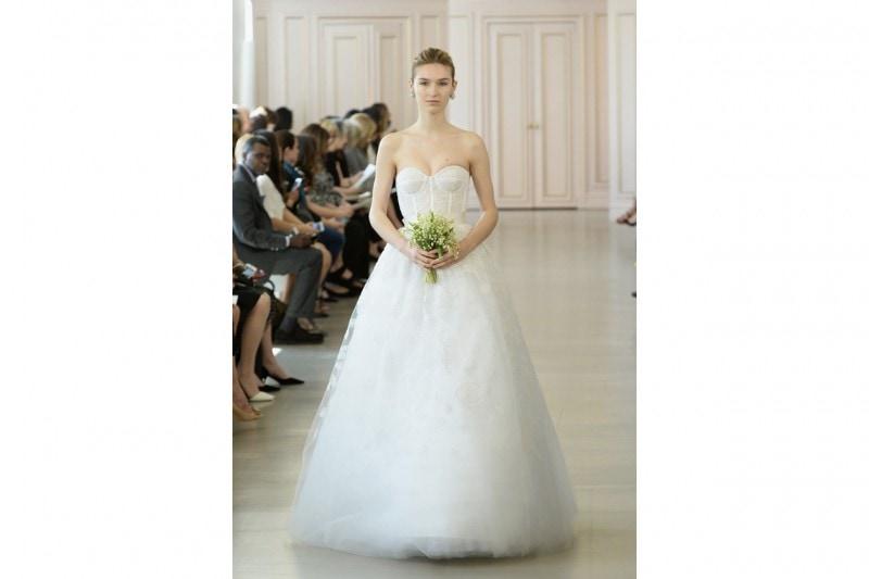 Oscar de La Renta Bridal 2016