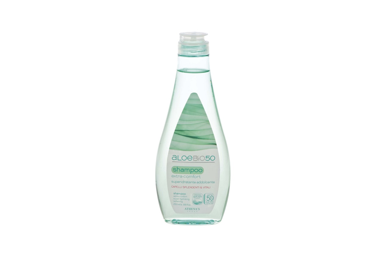 Prodotti per rinforzare i capelli: Athena's Aloe Bio 50 Shampoo