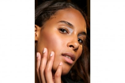 Reverse french manicure: Gabriele Colangelo