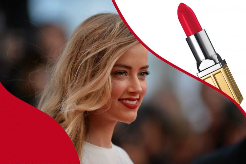 Rossetti rossi da red carpet: Beautiful Color Moisturizing Lipstick Red Door Red di Elizabeth Arden – Amber Heard