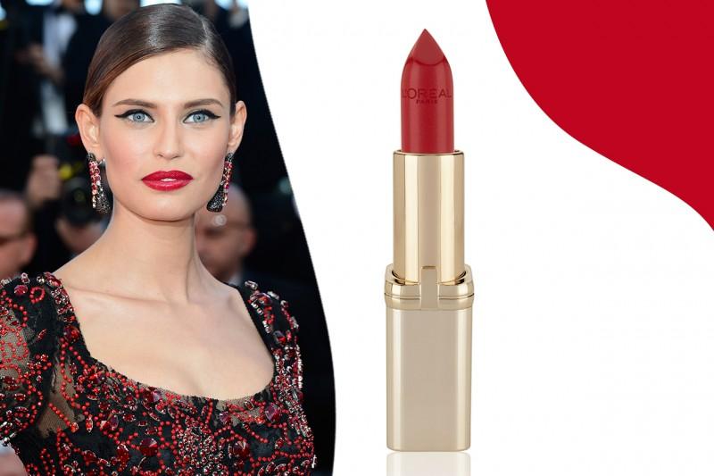 Rossetti rossi da red carpet: Color Riche in 297 Red Passion di L'Oreal Paris – Bianca Balti