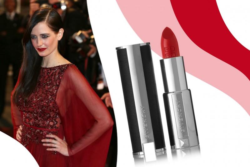 Rossetti rossi da red carpet: Le Rouge n. 306 Carmin Escarpin di Givenchy – Eva Green