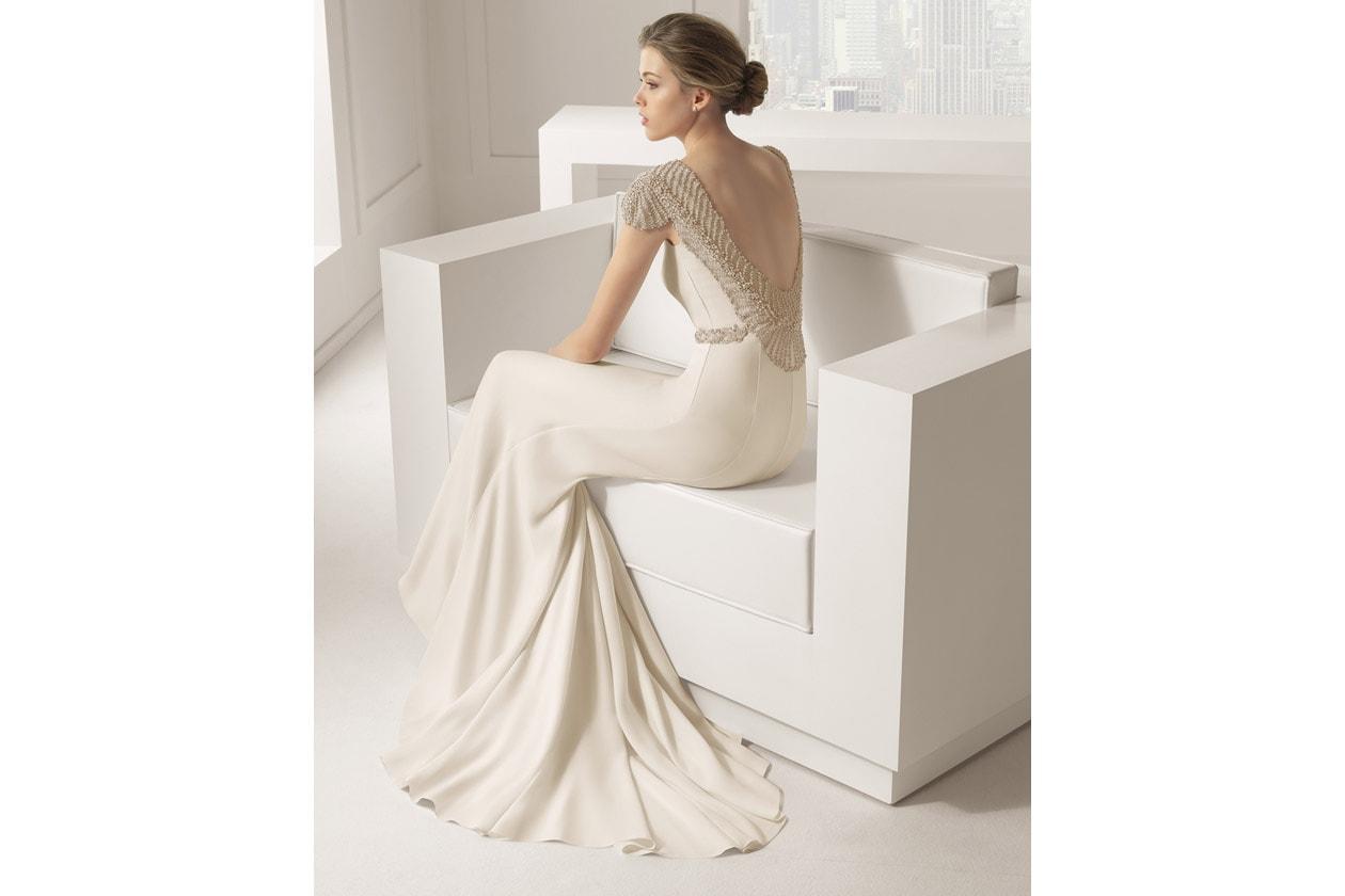SABOYA vestido de novia rosa clara 81105