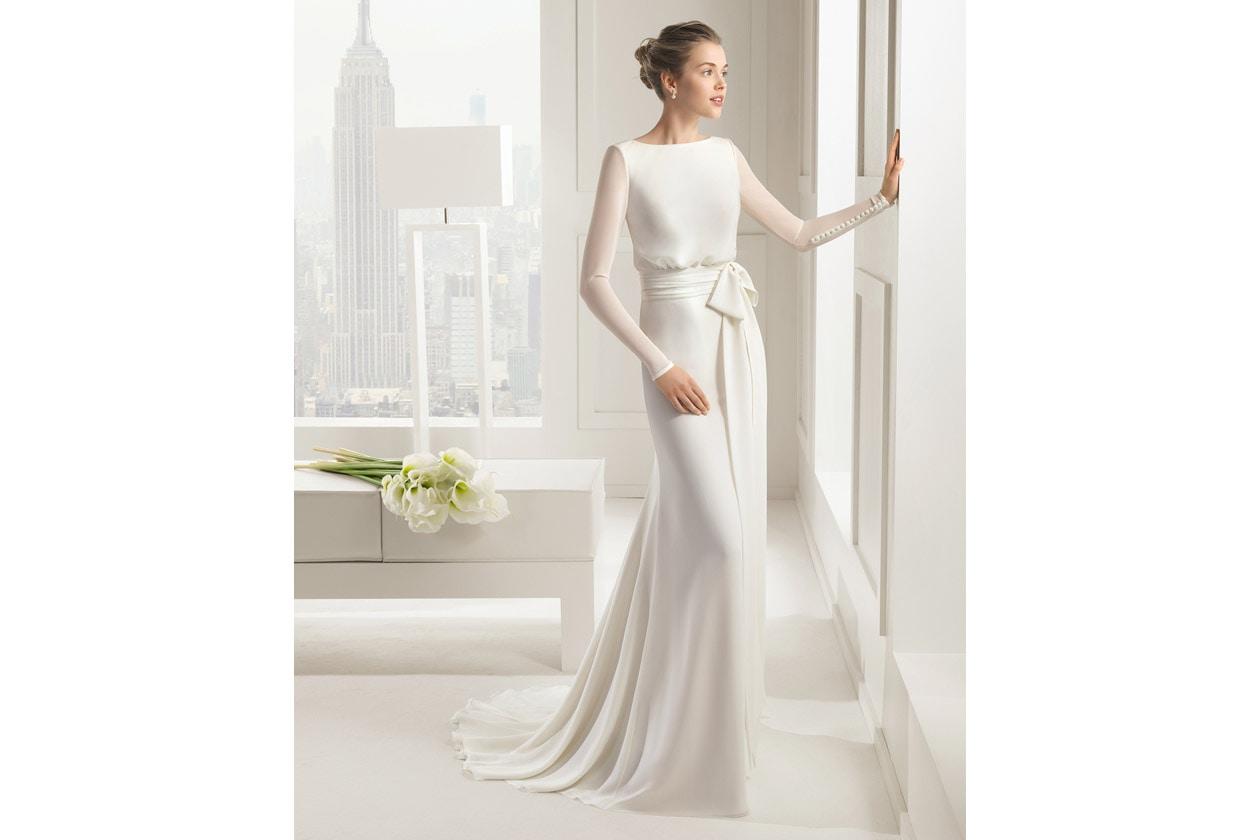 SAL vestido de novia rosa clara 81111