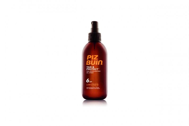 SOLARI 2015: Olio Spray Tan & Protect SPF 6 di Piz Buin