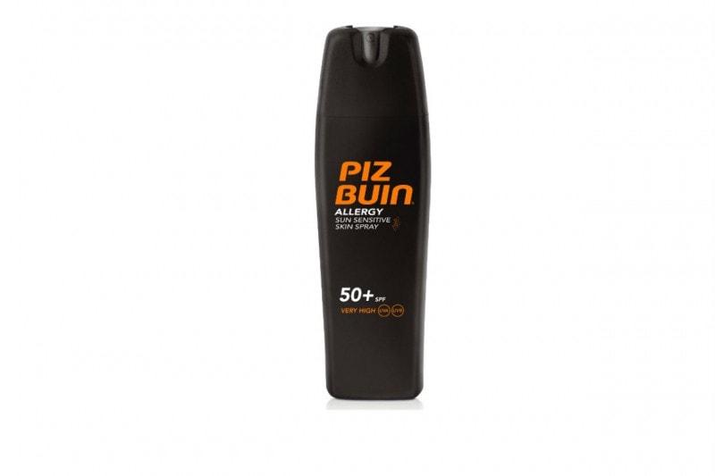 SOLARI 2015: Sun Sensitive Skin Spray SPF 50 di Piz Buin
