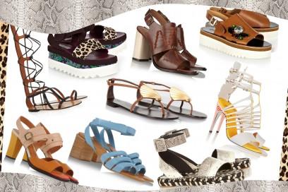 Sandali: tutte le tendenze per l'estate 2015
