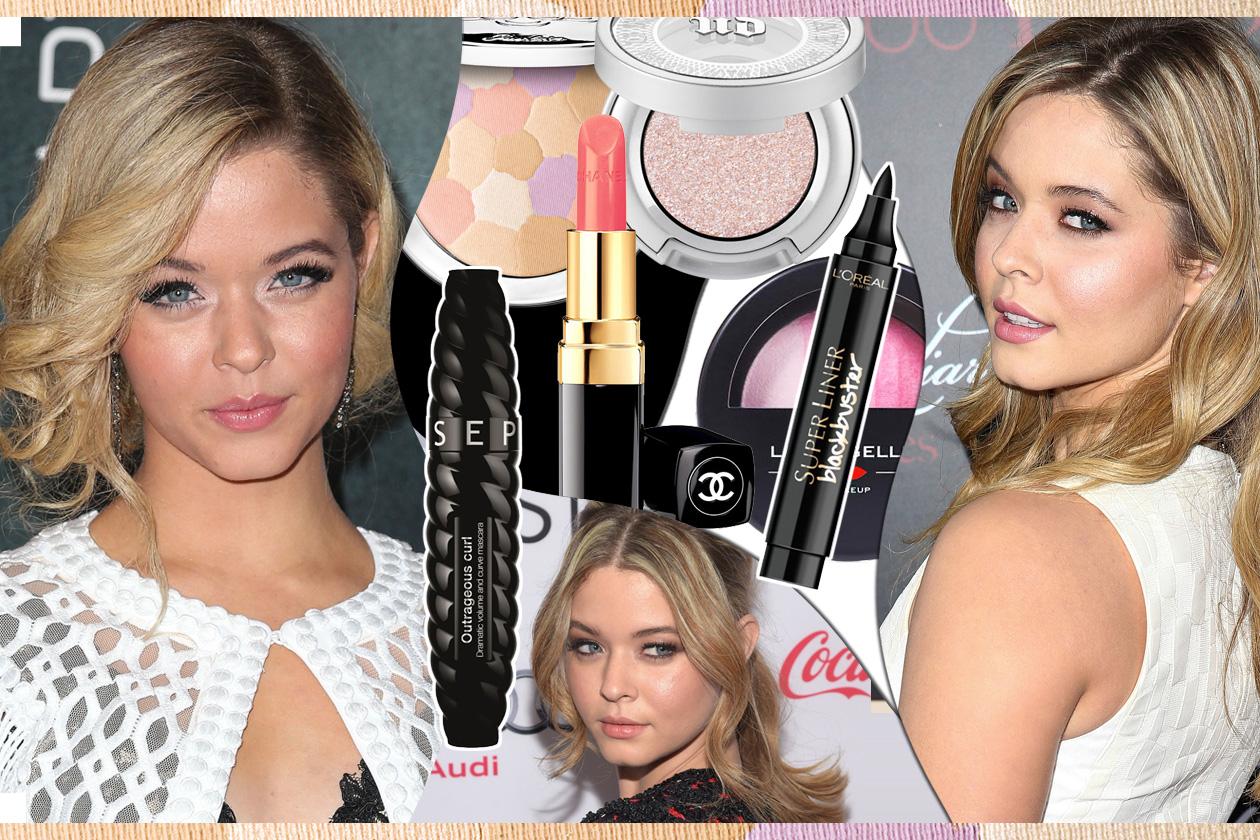Sasha Pieterse: i make up con labbra luminose e sguardo in primo piano
