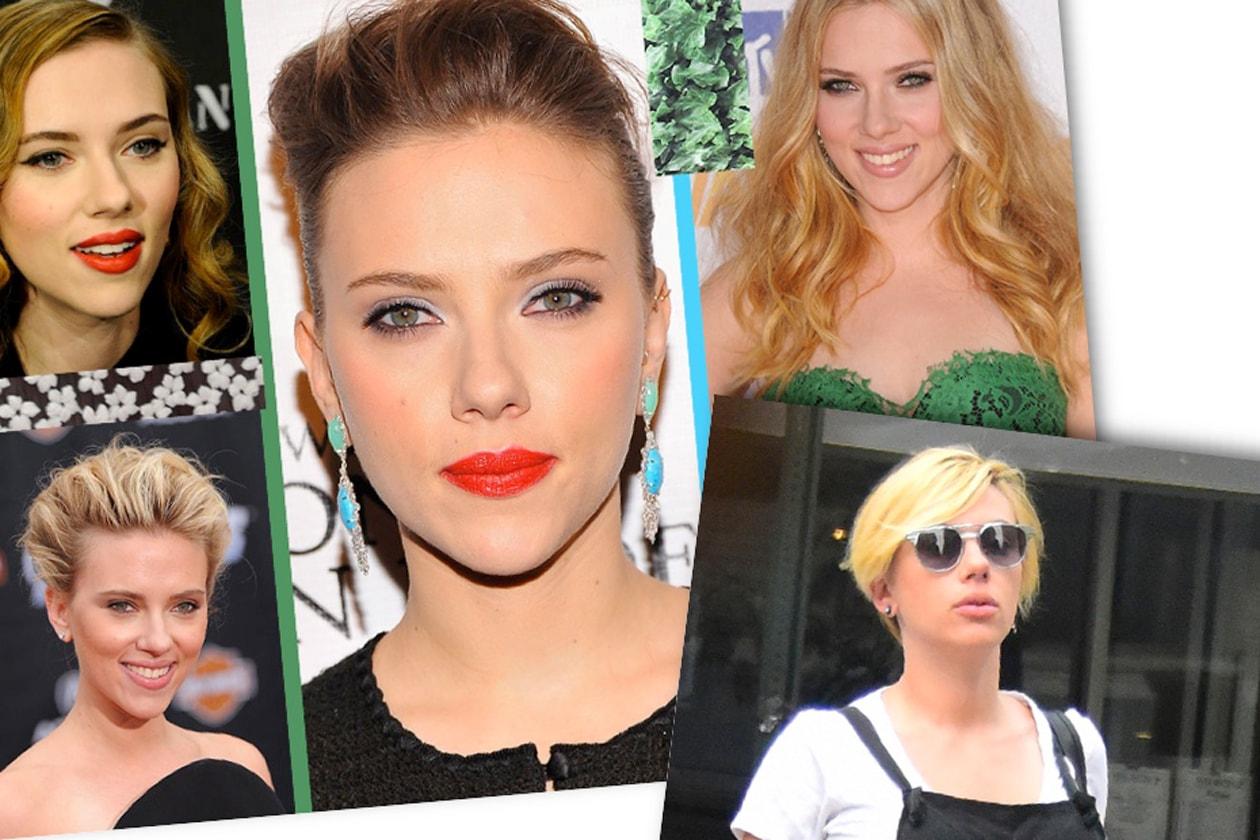 Scarlett Johansson Beauty look