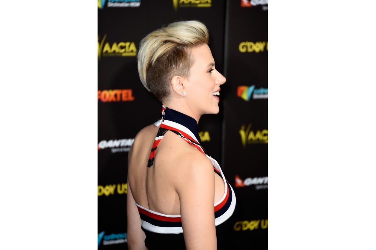Scarlett Johansson capelli corti