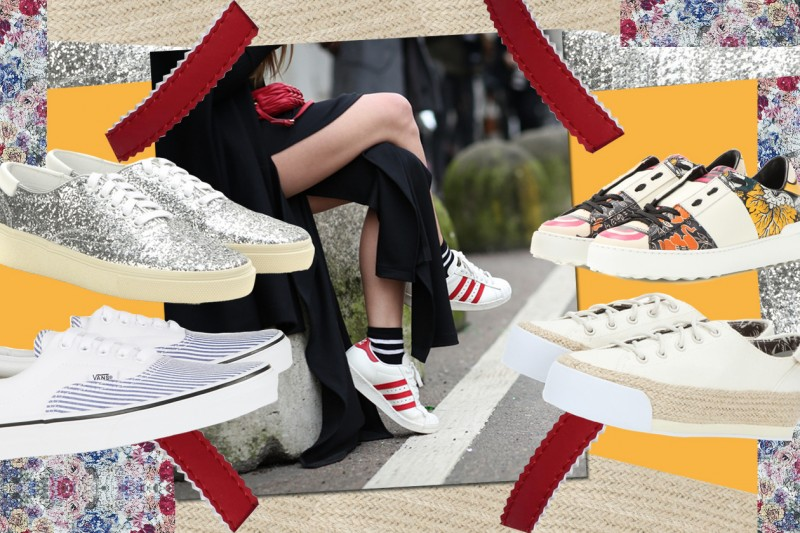 Sneakers estive: le tendenze per il 2015
