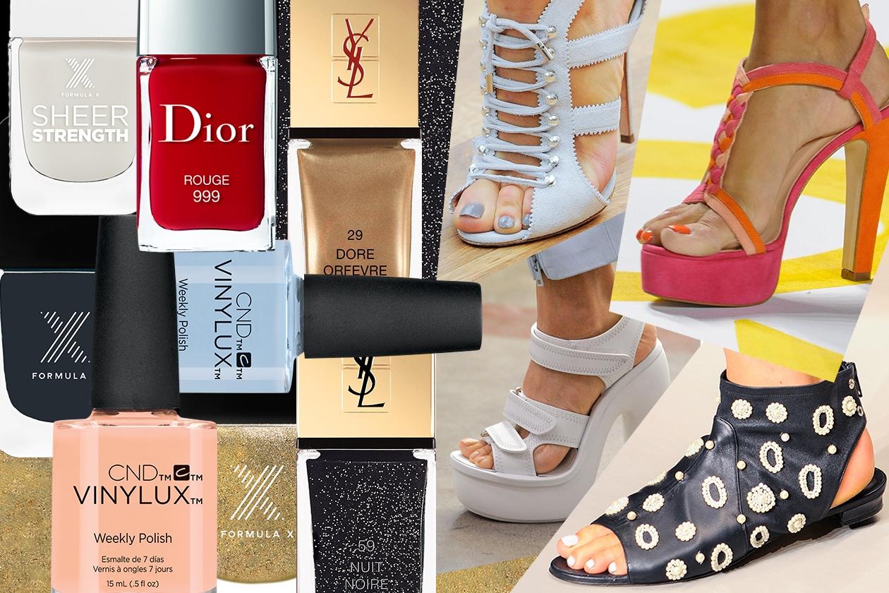 Tendenze smalti piedi: tutti i colori per l'Estate 2015 selezionati da Grazia.it