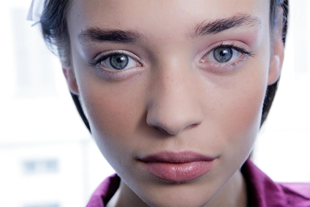 Trucco occhi pastello: rosa delicato