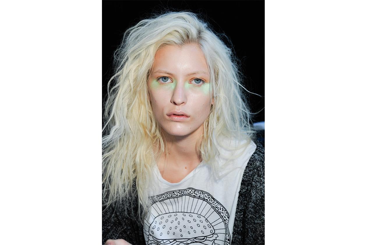 Trucco occhi pastello: sfumature di verde
