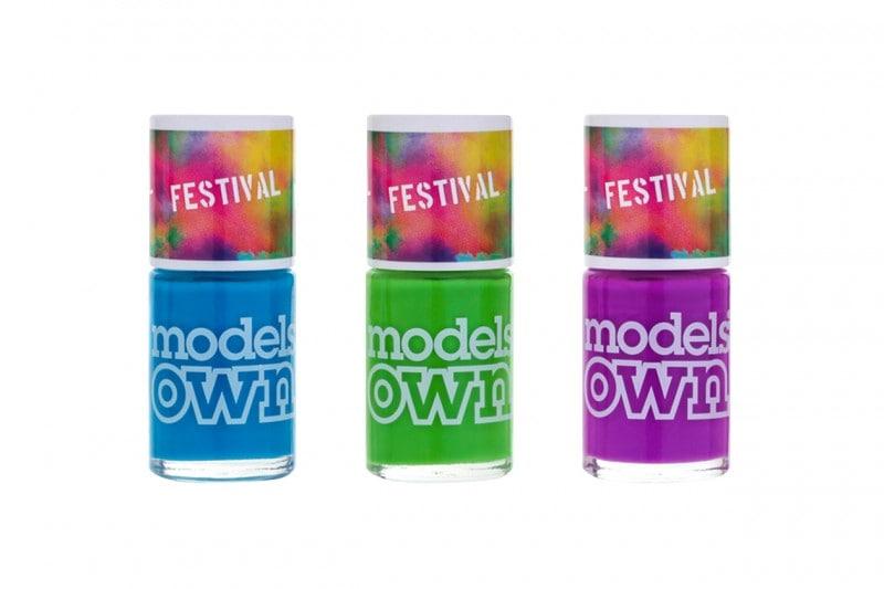 Unghie fluo: colori neon con Models Own Festival Collection