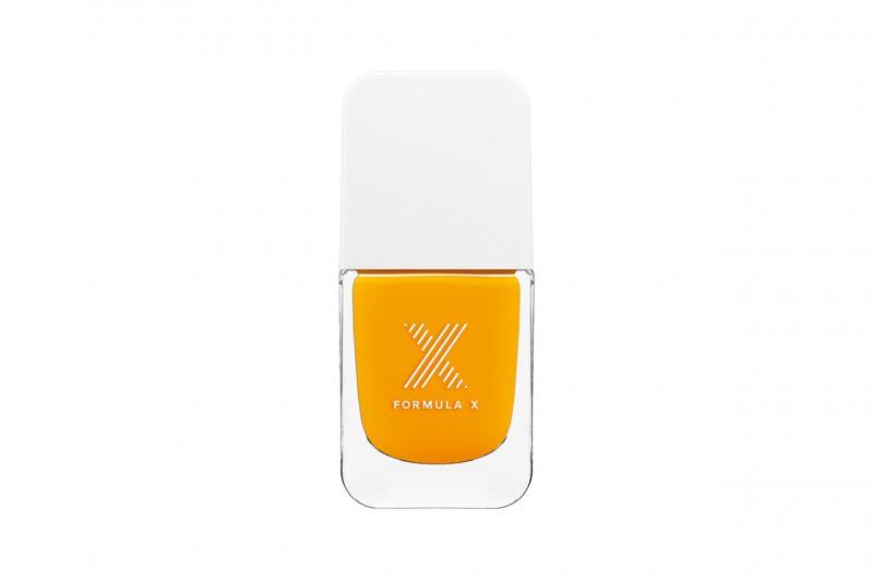 Unghie fluo: giallo con Formula X Dynamite