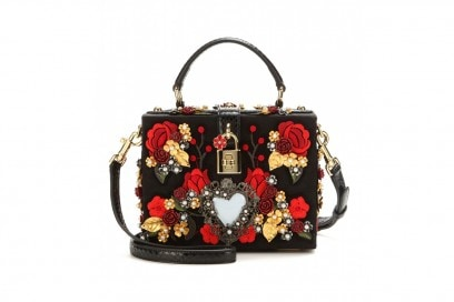 Borsa a manico con applicazioni: Dolce & Gabbana
