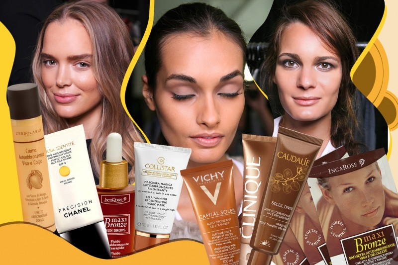Autoabbronzanti viso: i trattamenti per un'abbronzatura senza sole