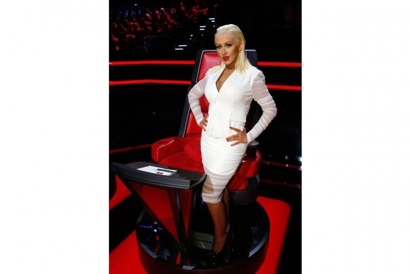 Capelli effetto bagnato delle star: Christina Aguilera