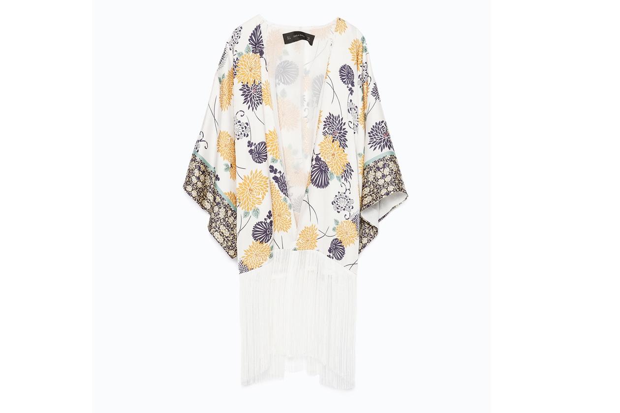 coachella style: kimono zara