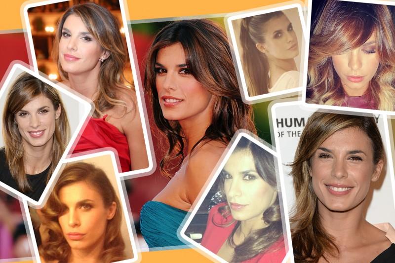 Elisabetta Canalis capelli: le acconciature più belle dallo stile basic alle onde romantiche