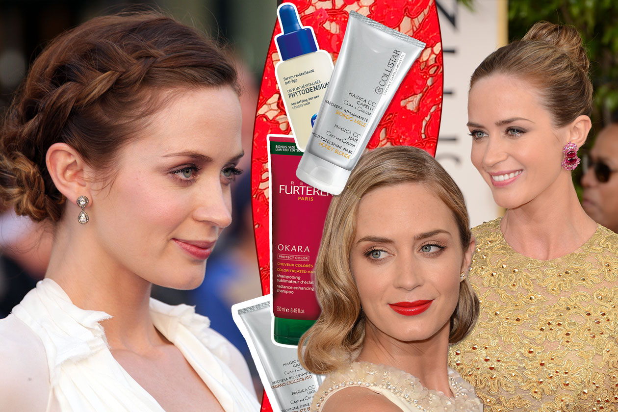 Beauty Emily Blunt Cover Collage