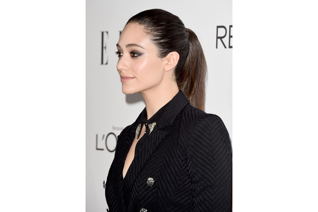 EMMY ROSSUM CAPELLI: IN LOVE WITH PONYTAILS