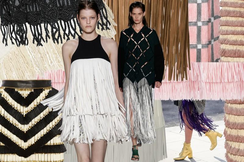 We love fringe skirts!