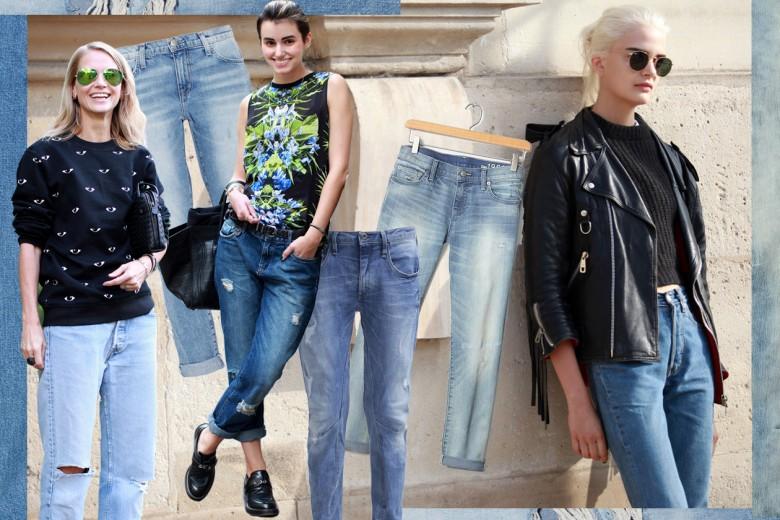 Mom Jeans, Boyfriend Jeans, Girlfriend Jeans: cosa sono e come si indossano