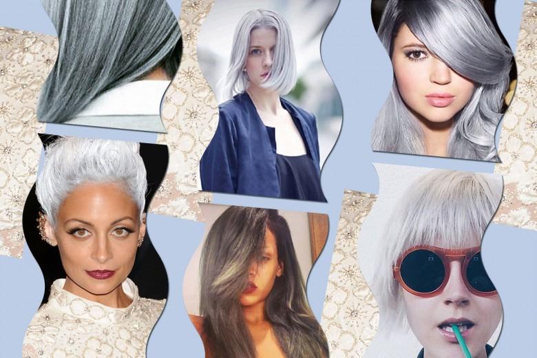 Capelli: il color argento è la nuova tendenza PE 2015