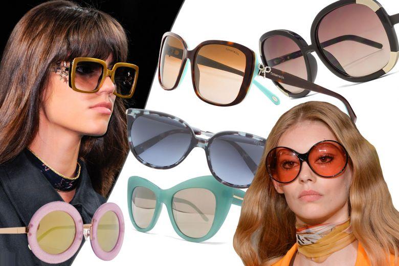 Occhiali da sole maxi: i modelli grandi in stile anni 70