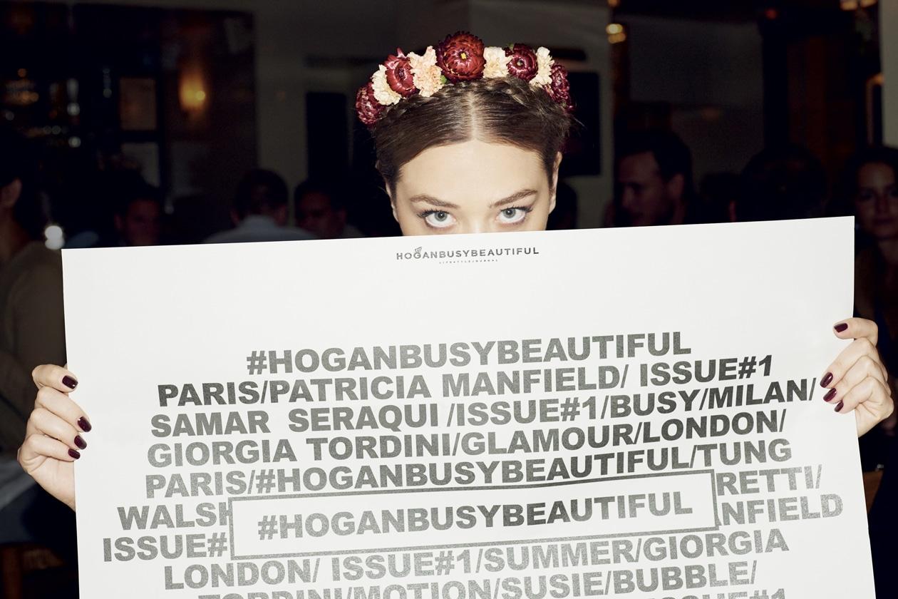 LA DONNA BUSY BEAUTIFUL DI HOGAN