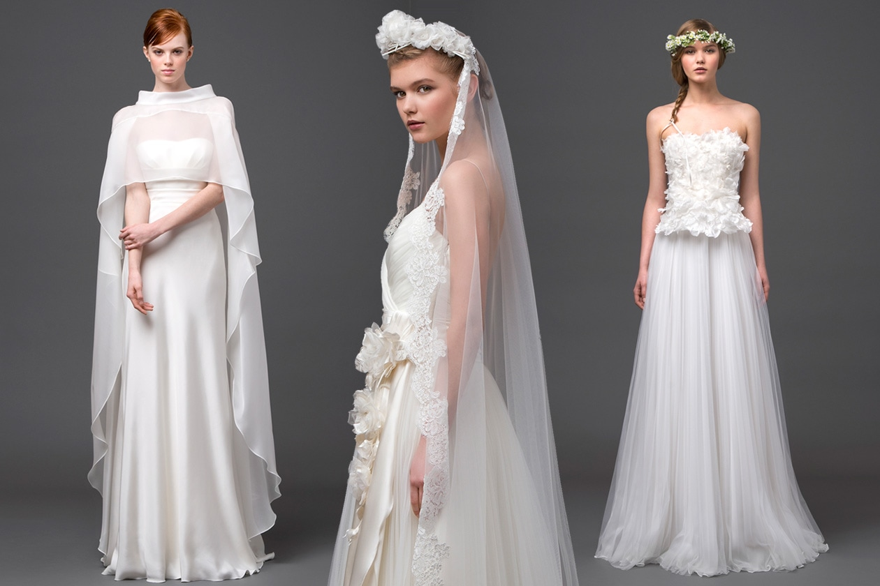 official photos a6533 be645 Gli abiti da sposa Alberta Ferretti Forever 2015 - Grazia.it