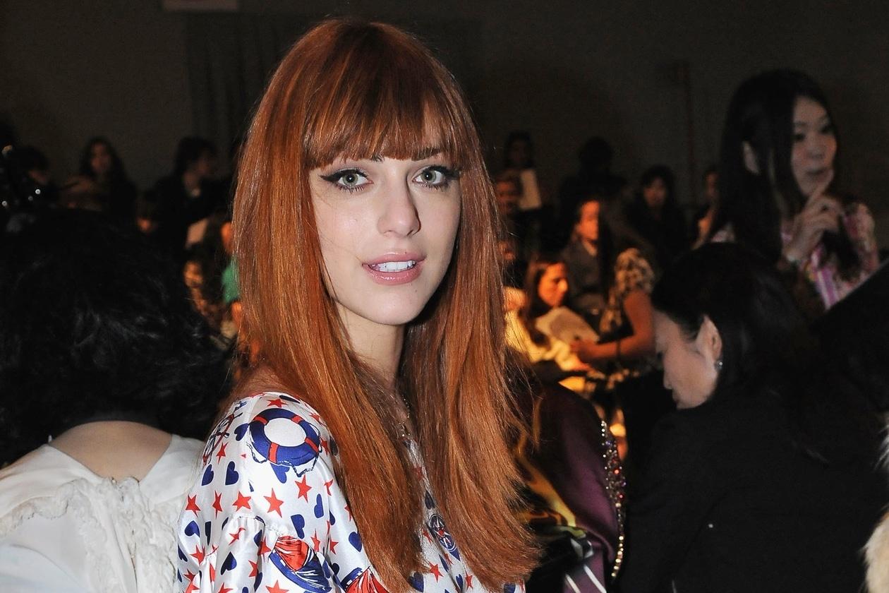 Miriam Leone capelli: frangia e lunghezze color rosso rame