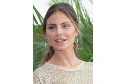 Nina Senicar trucco: occhi da cerbiatta